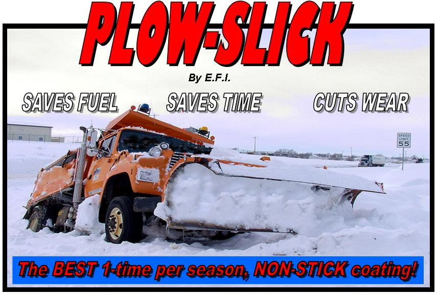 Plowslick The Best Non Stick Plow Coating Available Today